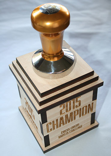 Unique Awards Trophy in Wood